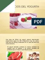 Beneficios Del Yogurth