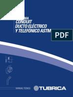 Manual Técnico - Sistema Conduit Ducto Eléctrico & Telefónico ASTM.pdf