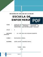 Aspectos Preventivos de La Salud Mental Jultzi Navarro Davila