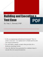 Building a Test Case