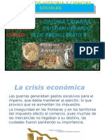 La crisis económica