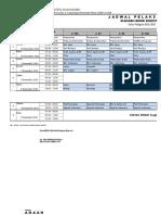 Jadwal UAS 1 Tahun 2016-2017