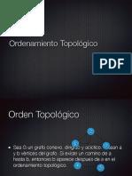 OrdenacionTopologica(Pasos)