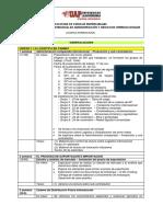 Contenido Programatico Detallado LI 2016-II