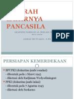 Sejarah Lahirnya Pancasila (Pert 2)