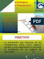 Planeacion de Instalaciones