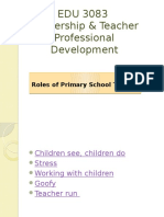 5. Roles of Primary School Teacher