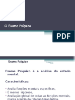 4 O Exame Psíquico