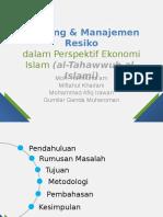 Hedging & Manajemen Resiko Dalam Perspektif Ekonomi Islam