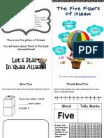 Five Pillars of Islaam Mini Pack