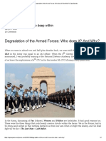 Degradation of the Armed Forces_ Who Does It_ and Why_ _ SajanSpeaks