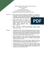 Perda No 3 Tahun 2009 DKI Tentang Pengelolaan Area Pasar