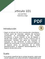 Articulo 101