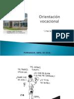 orientación vocacional 3º