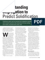 Understanding Segregation to Predict Solidification - Modern Casting June 2014