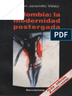 Jaramillo Velez Ruben - Colombia La Modernidad Postergada