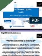 GSA Digital Dividend Update June 2010