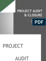 Project Audit & Closure