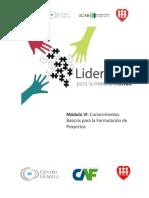 DLTManual  Del Participate Conocimientos Básicos Para La Formulación de Proyectos