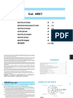 Manual for the SSA303J1 (similar models SSA305J1, SSA306J1, SSA308J1 and SSA309J1) & the 4R57 Caliber