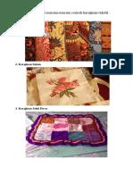 298082799 Jenis Jenis Kerajinan Tekstil Dan Gambarnya Lengkap