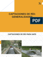 14-Captaciones de Río - Generalidades