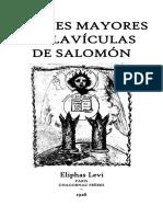 Eliphas Levi - Claves Mayores y Clavículas de Salomón