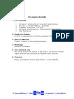 A. Guia de Trabajo Por Docente y Analisis Comparativo
