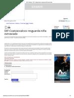 AVC Noticias - DIF-Coatzacoalcos Resguarda Niña Extraviada