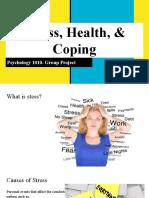 stress health   coping