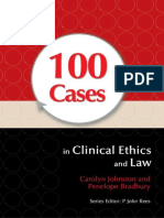 100 Cases in Clinical Ethics AndLaw