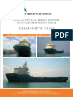 R-class Vessel Specs