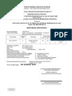 Surat Keselamatan Kapal < 7 GT Petunjuk Teknis NCVS SK DIRJEN HUBLA No. UM.008/9/20/DJPL-12