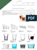 Vasos - Cristalería