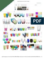 Vasos de Cristal de Colores - Buscar Con Google