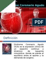 Síndrome Coronario Agudo IAM