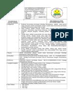 SPO Evaluasi Kesesuaian Peresepan Dengan Formularium, Hasil Evaluasi Dan Tindak Lanjut.......................................