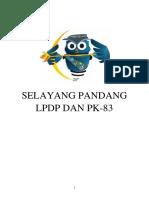 Selayang Pandang LPDP Dan PK-83