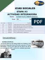 Integradora etapa 3 Ciencias sociales