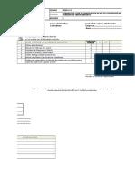HSE-F-22 Lista de Verificación de Kit de Contención de Derrames de Hidrocarburo