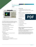 TDS3000C Digital Phosphor Oscilloscope Datasheet 41W1248225