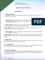 Temario of. III y Notoficador 2 Examen by Moreno