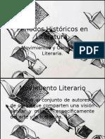 Períodos Históricos en Literatura