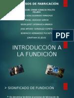 Introducción a La Fundición