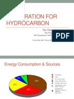 Exploration for Hydrocarbon