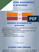 Evaluación Económica de Procesos