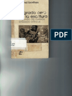 Grado Cero Barthes (1)