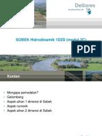 SOBEK - Hidrodinamik 1D2D (2C)