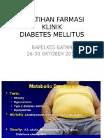 Metabolisme Karbohidrat, Dm, Dan Metabolic Syndrome