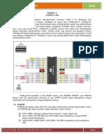 Modul Pelatihan Mikrokontroler Arduino ATMega 328
